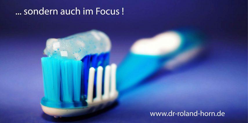 Zahnarzt in Konstanz Dr. Roland Horn Focus Artikel feste Zähne an einem Tag
